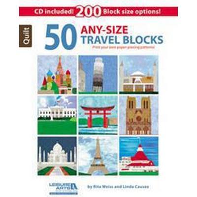 50 Any-Size Travel Blocks [With CDROM] (Häftad, 2014)
